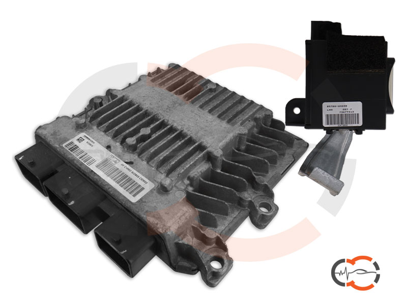 Revisione centralina immobilizer Peugeot 107 SID805